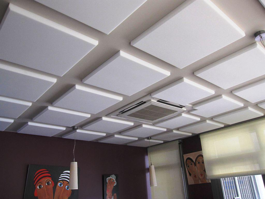 Image of: Decorative Acoustic Ceiling Tiles