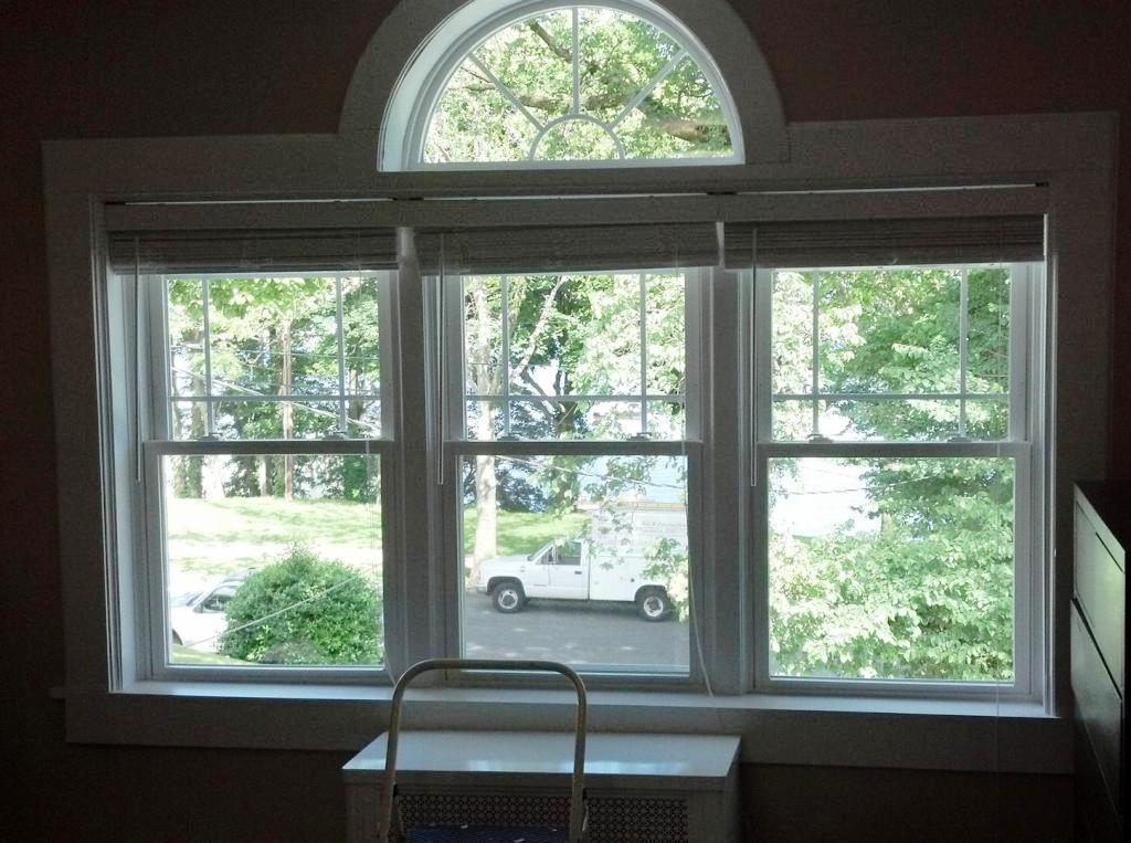 Image of: Double Hung Window With Transom