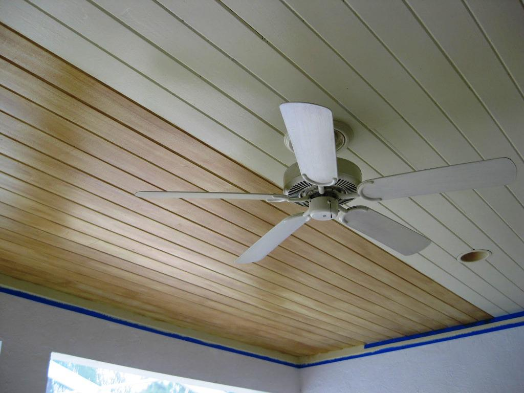 Image of: Faux Wood Ceiling Planks