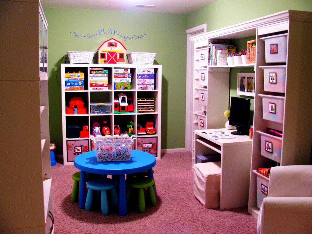 Image of: Furniture For Playrooms