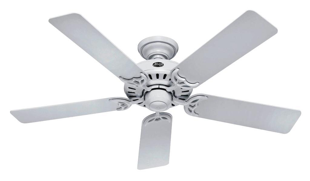 Image of: Harbor Breeze White Ceiling Fan