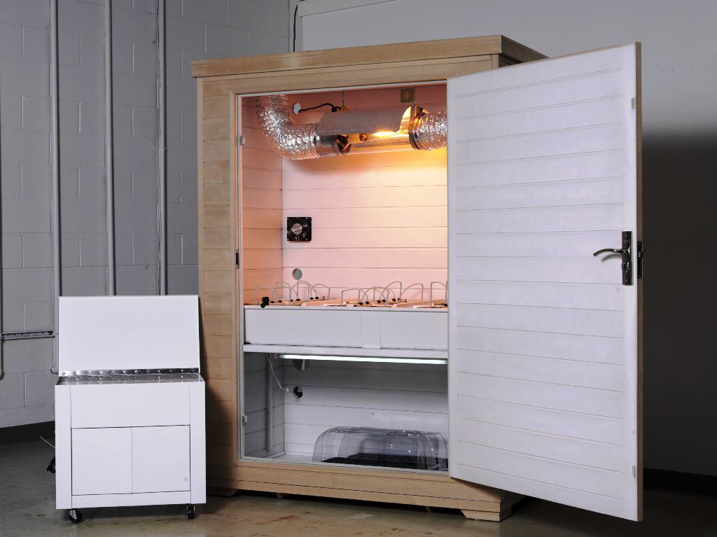 Image of: Hydroponic Grow Box Plans