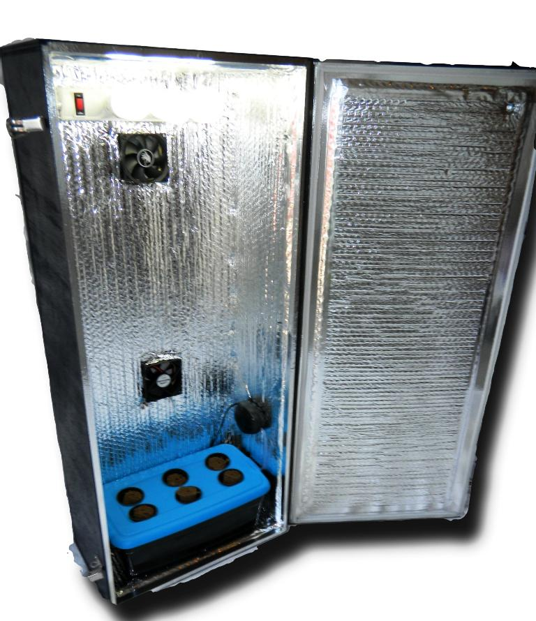 Image of: Hydroponic Grow Cabinet System