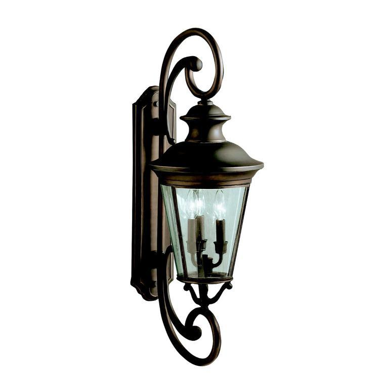 Image of: Kichler Outdoor Wall Sconce