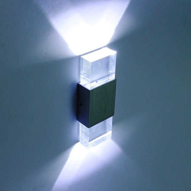 Image of: LED Wall Sconces Indoor