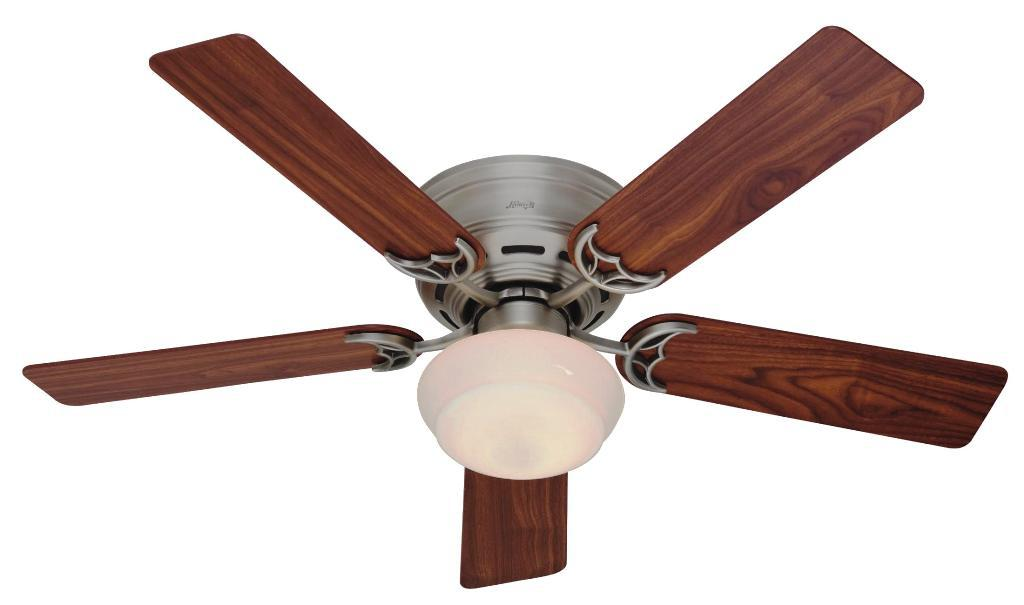Image of: Low Profile Ceiling Fan Light