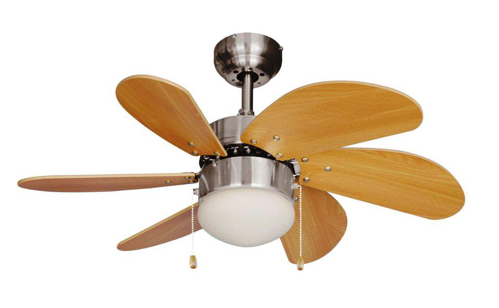 Image of: Low Profile Ceiling Fan With Remote Control
