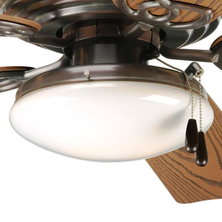 Image of: Low Profile Ceiling Fan With Remote