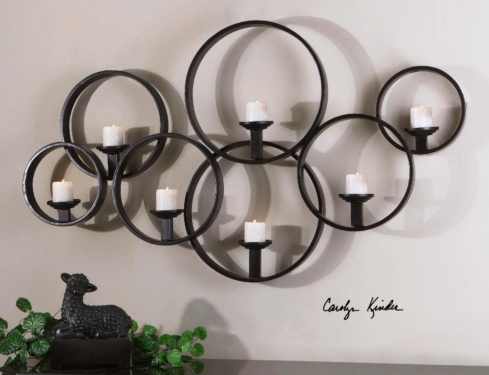 Image of: Modern Candle Wall Sconce