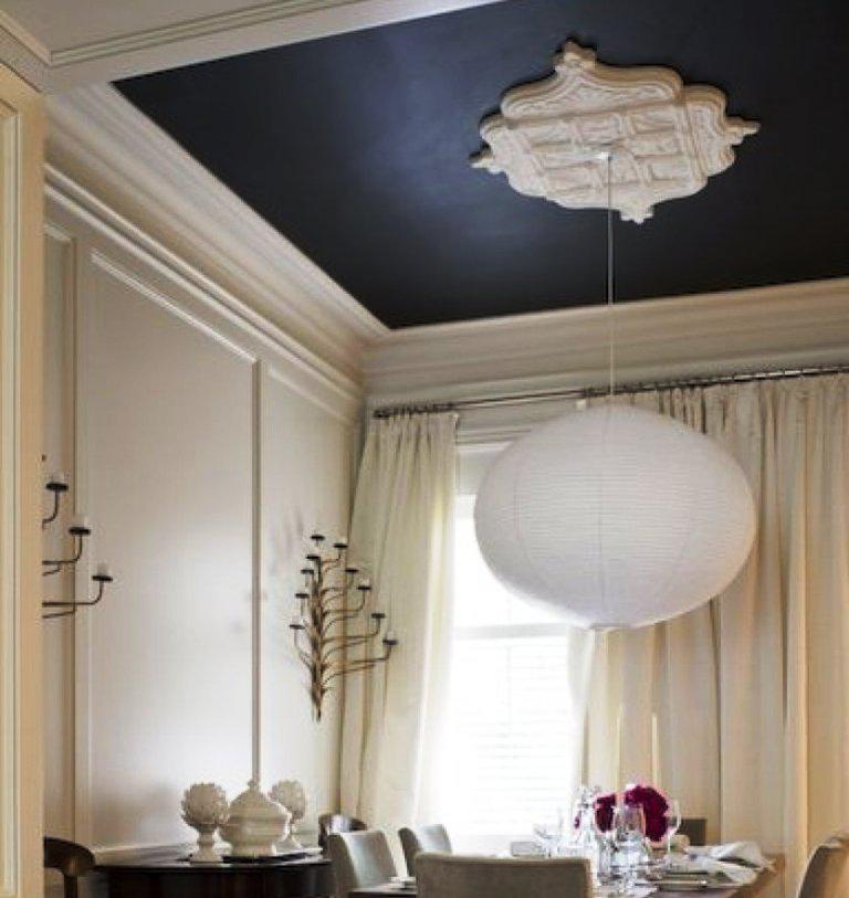 Image of: Modern Ceiling Medallion