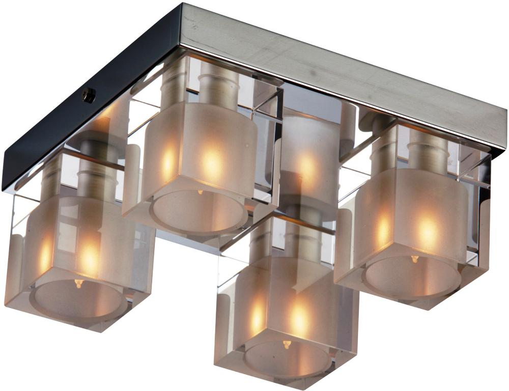 Image of: Modern Flush Mount Ceiling Light
