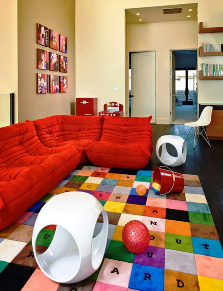 Image of: Rugs For Playroom