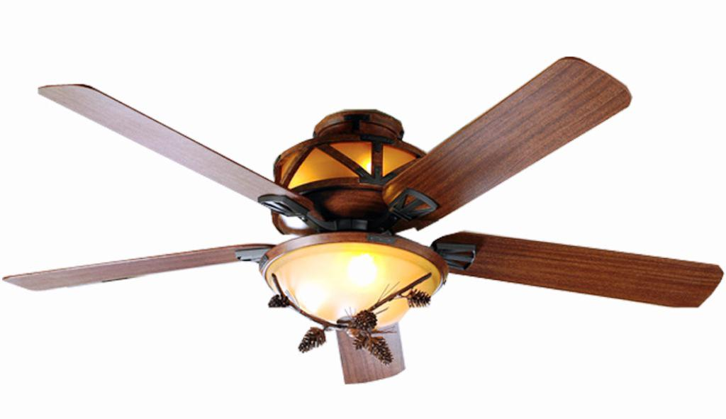 Image of: Rustic Style Ceiling Fans