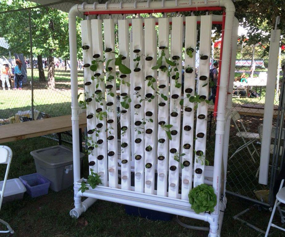 Image of: Vertical Hydroponics DIY