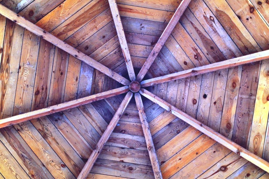 Image of: Wood Ceiling Boards