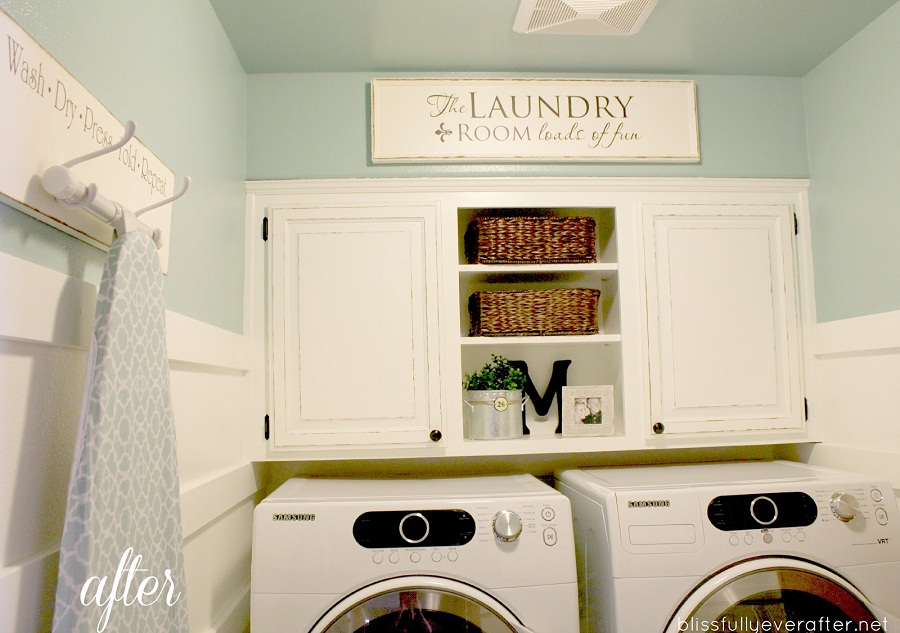 Image of: After Laundry Room Makeover