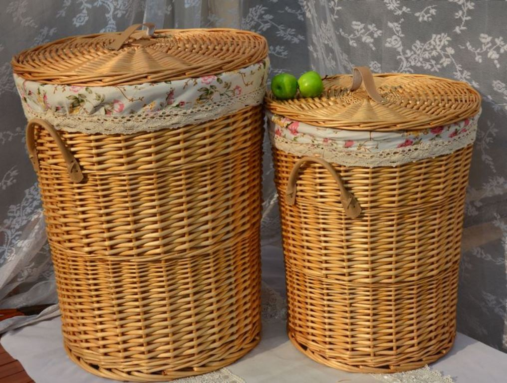 Image of: Bamboo Laundry Hamper Liner