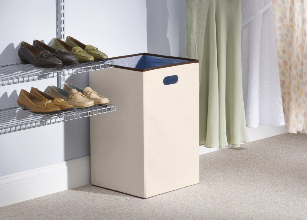 Image of: Collapsible Laundry Hamper Set