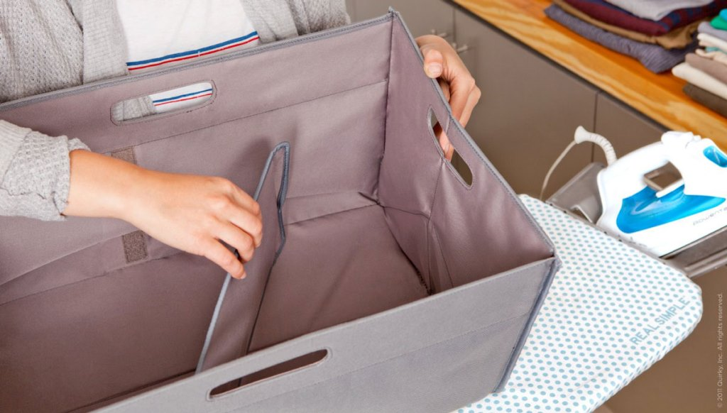Image of: Collapsible Laundry Hamper And Sorter
