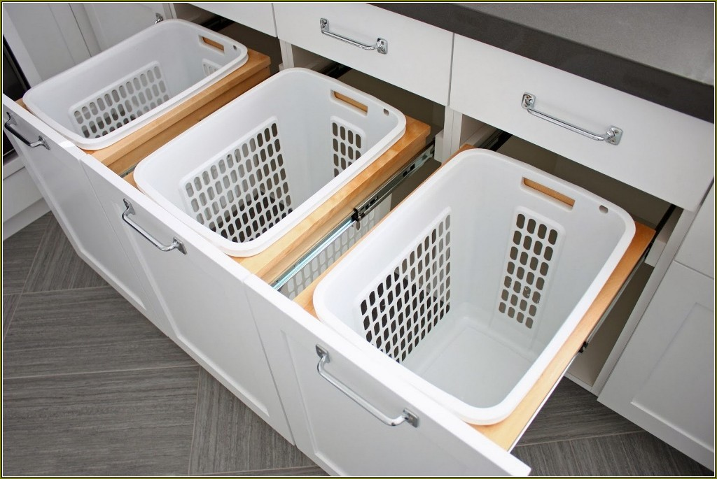 Image of: collapsible tall laundry hamper