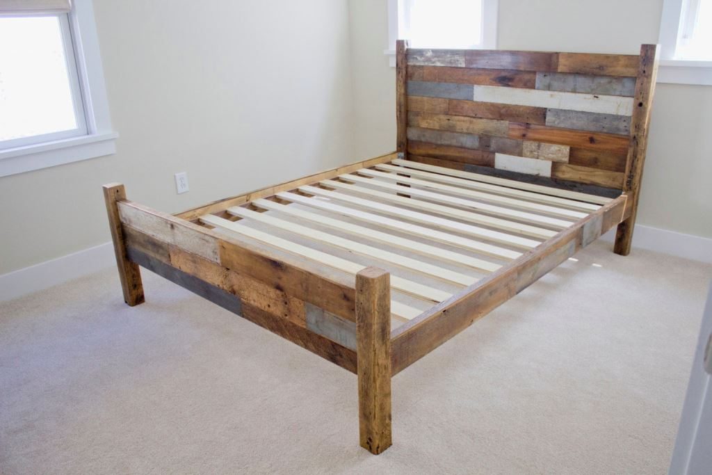 full-size-wood-bed-frame-with-headboard