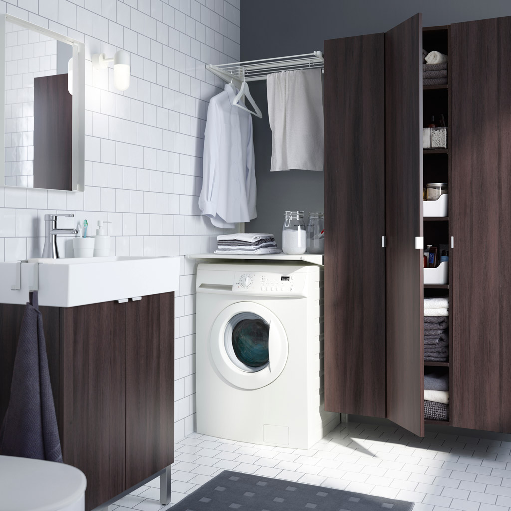 Image of: Ikea Laundry Room Designs Ideas