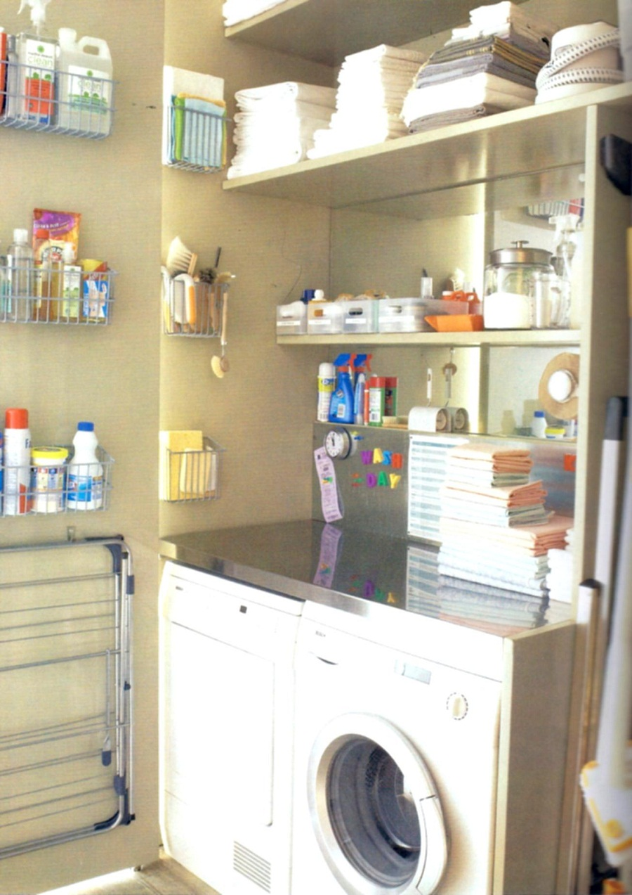 Image of: Ikea Laundry Room Utility