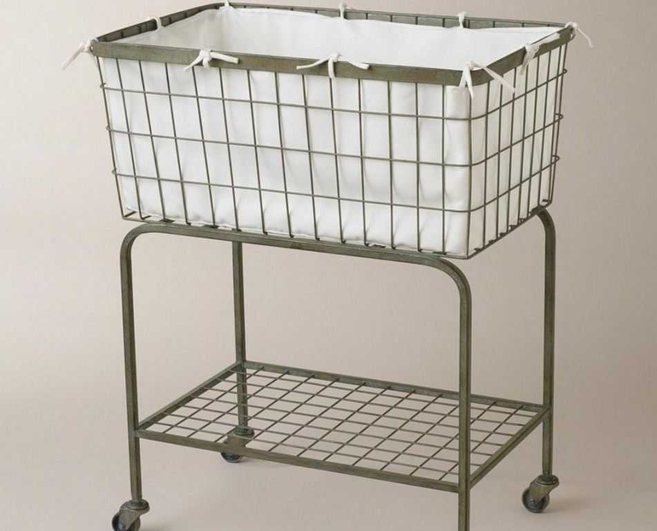 Image of: Laundry Caddy With Wheels