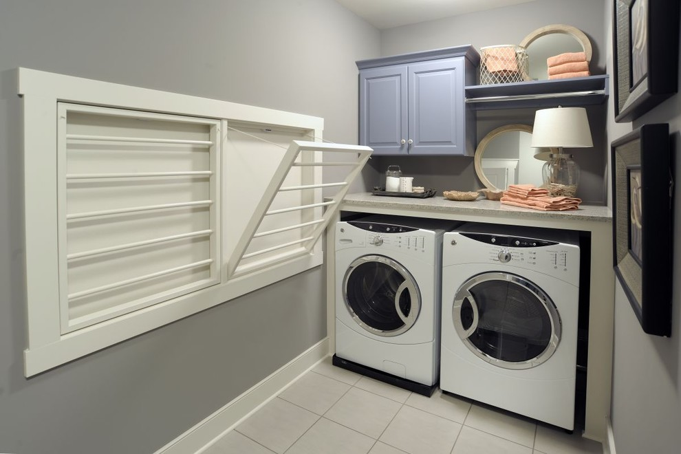 Image of: Laundry Hamper Cabinet Drying Rack