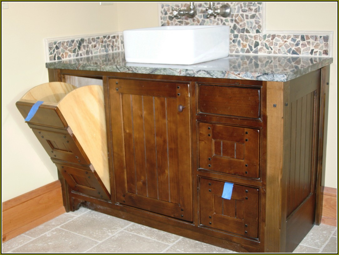 Image of: Laundry Hamper Cabinet Insert