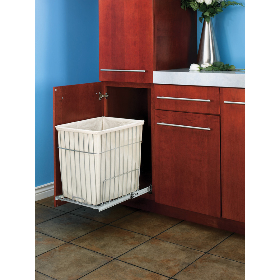 Image of: Laundry Hamper Cabinet Plastic
