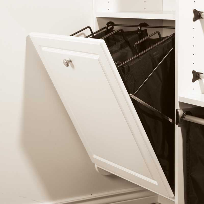 Image of: Laundry Hamper Cabinet Tilt Out