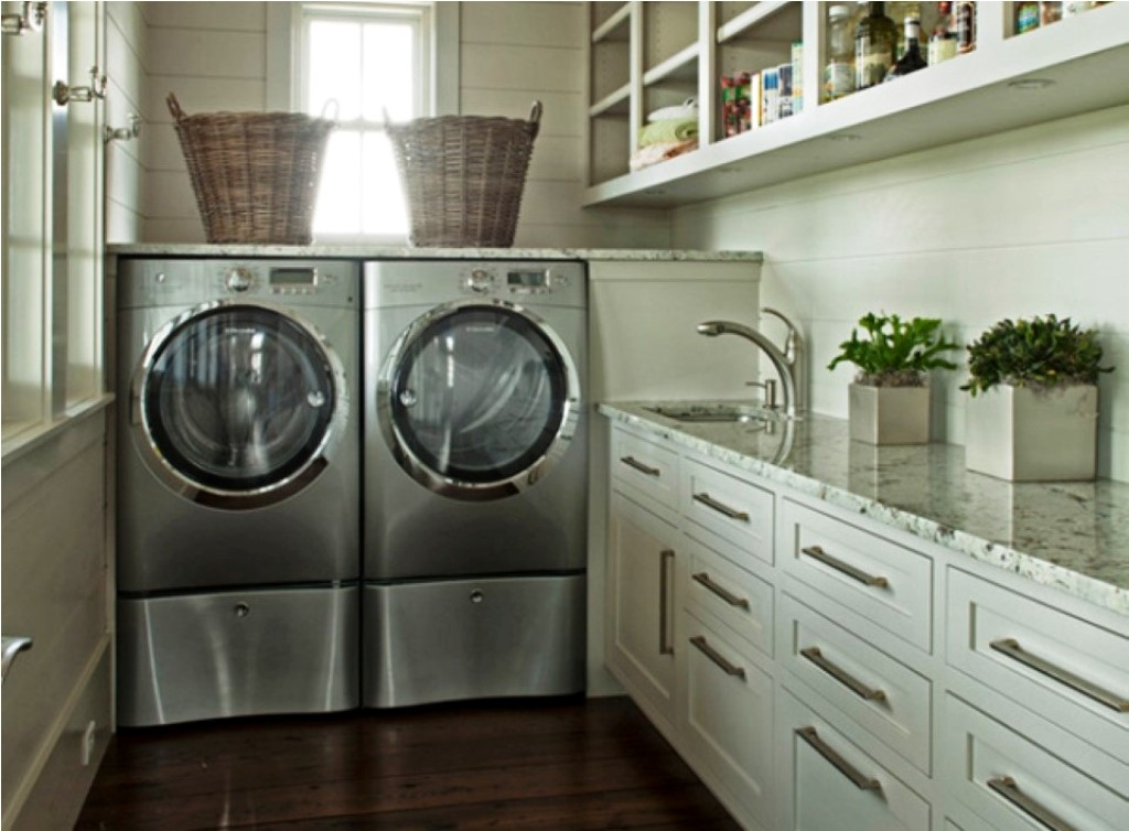 Image of: laundry pedestal pictures