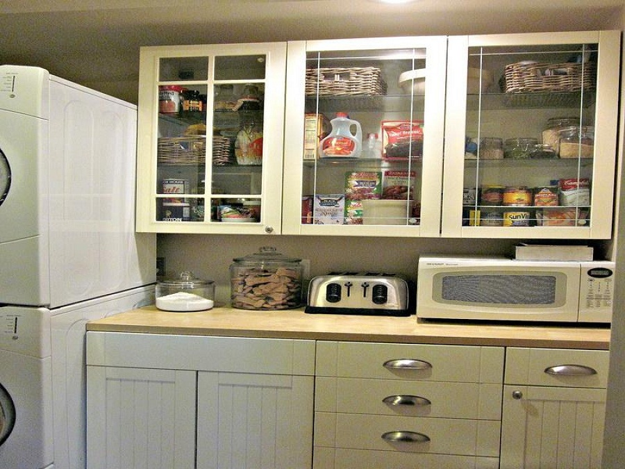 Image of: Laundry Room Cabinets Organizer