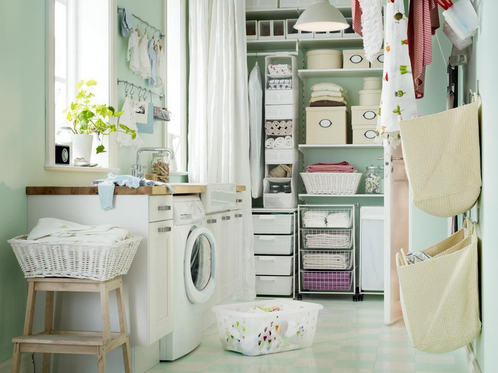 Image of: Laundry Room Decals Turquois