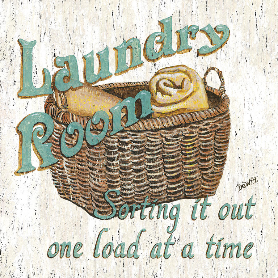 Image of: Laundry Room Decals Vintage