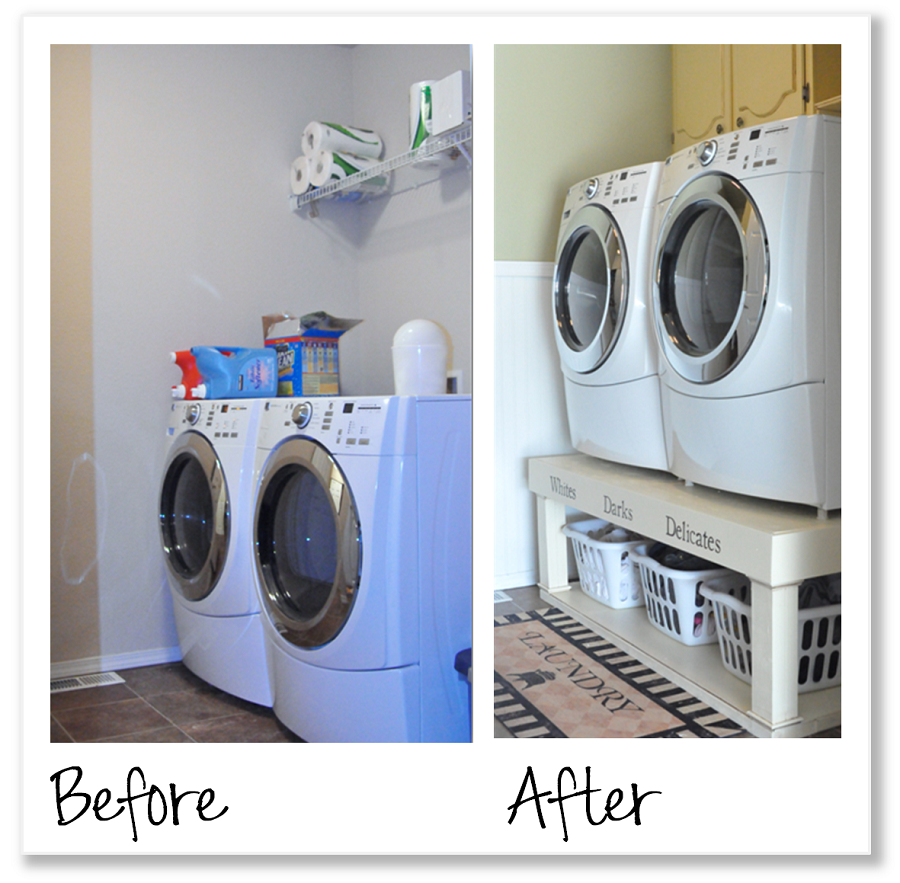 Image of: Laundry Room Makeover