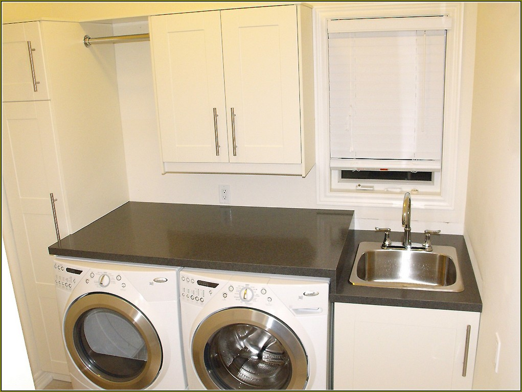 Image of: Laundry Sink Cabinet Dimensions