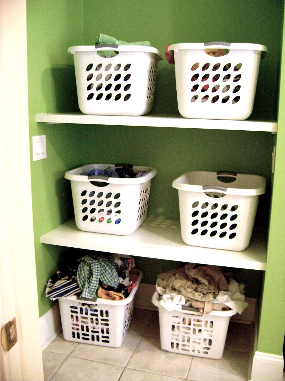 Image of: narrow laundry hamper plastic