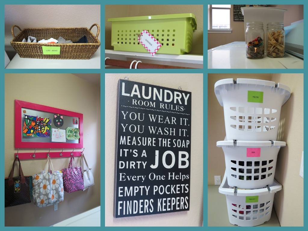 Image of: Stackable Laundry Baskets With One Handle