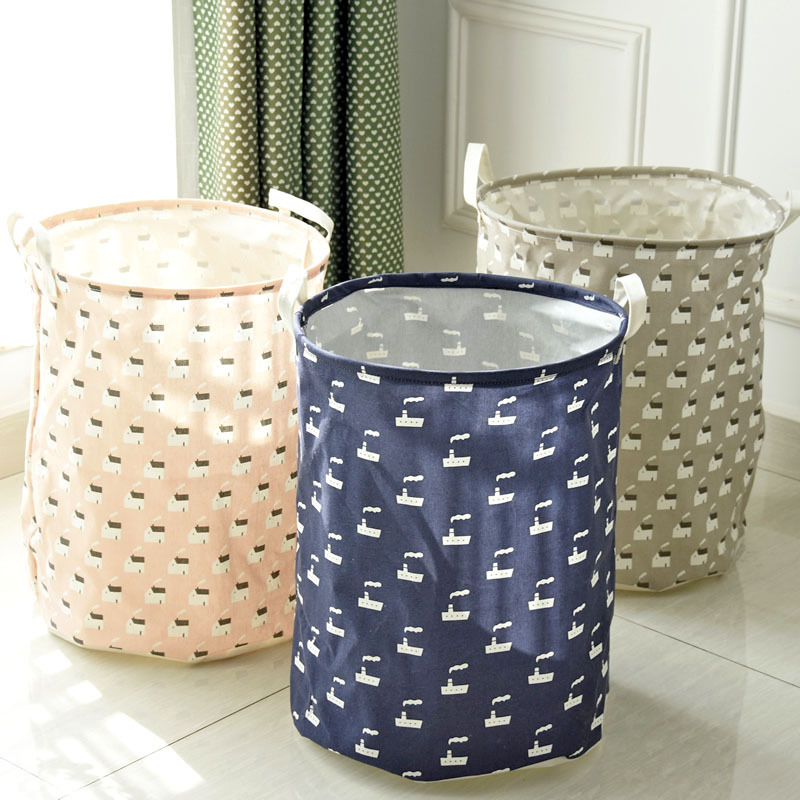 Image of: stylish laundry bin