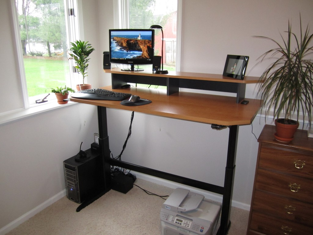 Adjustable Computer Desk Topper