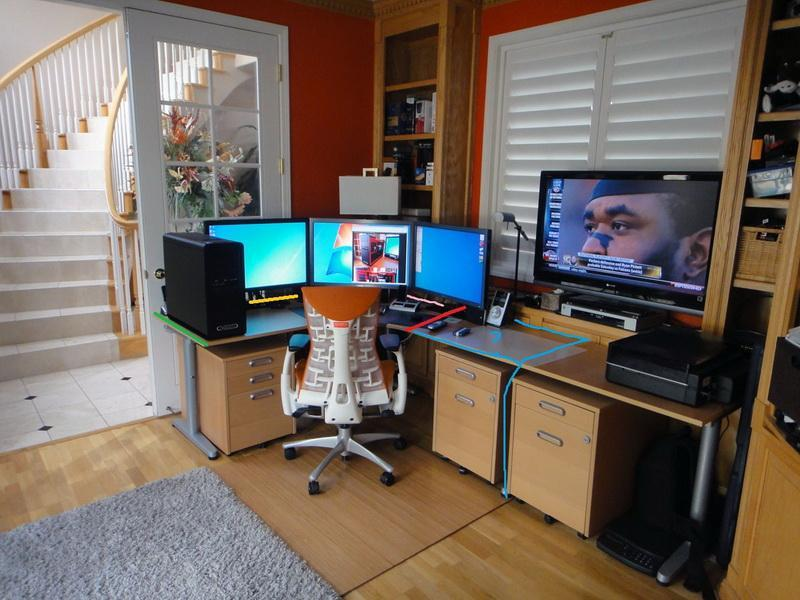 Image of: Amazing Corner Gaming Desk