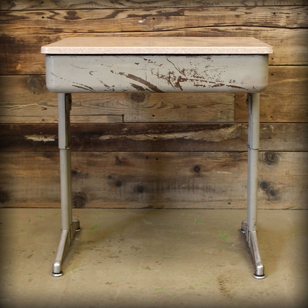 Image of: Antique Childrens Desk Mid Century