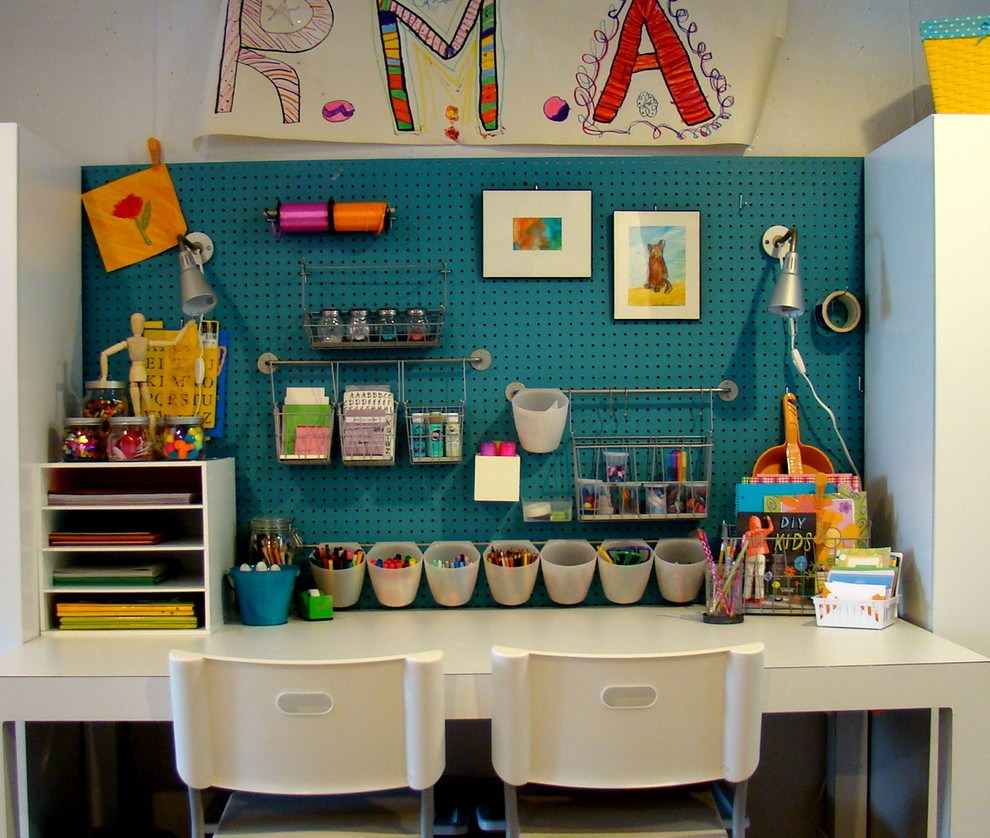 Image of: Art Desk Ikea Model