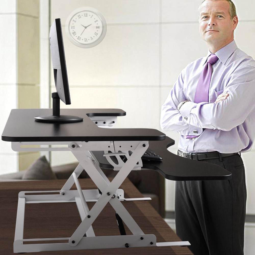 Image of: Awesome Desk Lift Kit