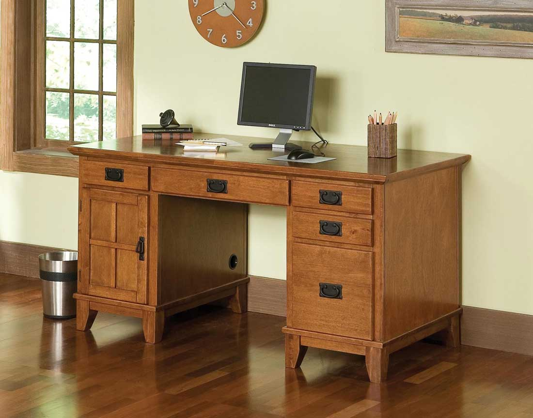 Image of: Bedford Corner Desk Computer