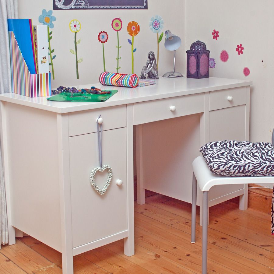 Image of: Bedroom Childrens Desk and Chair Set
