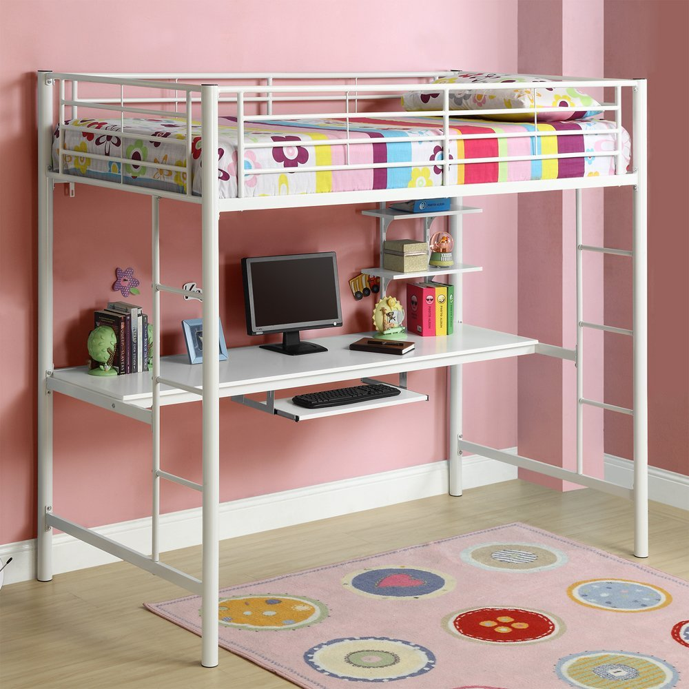 Image of: Best Boys Bunk Bed With Desk