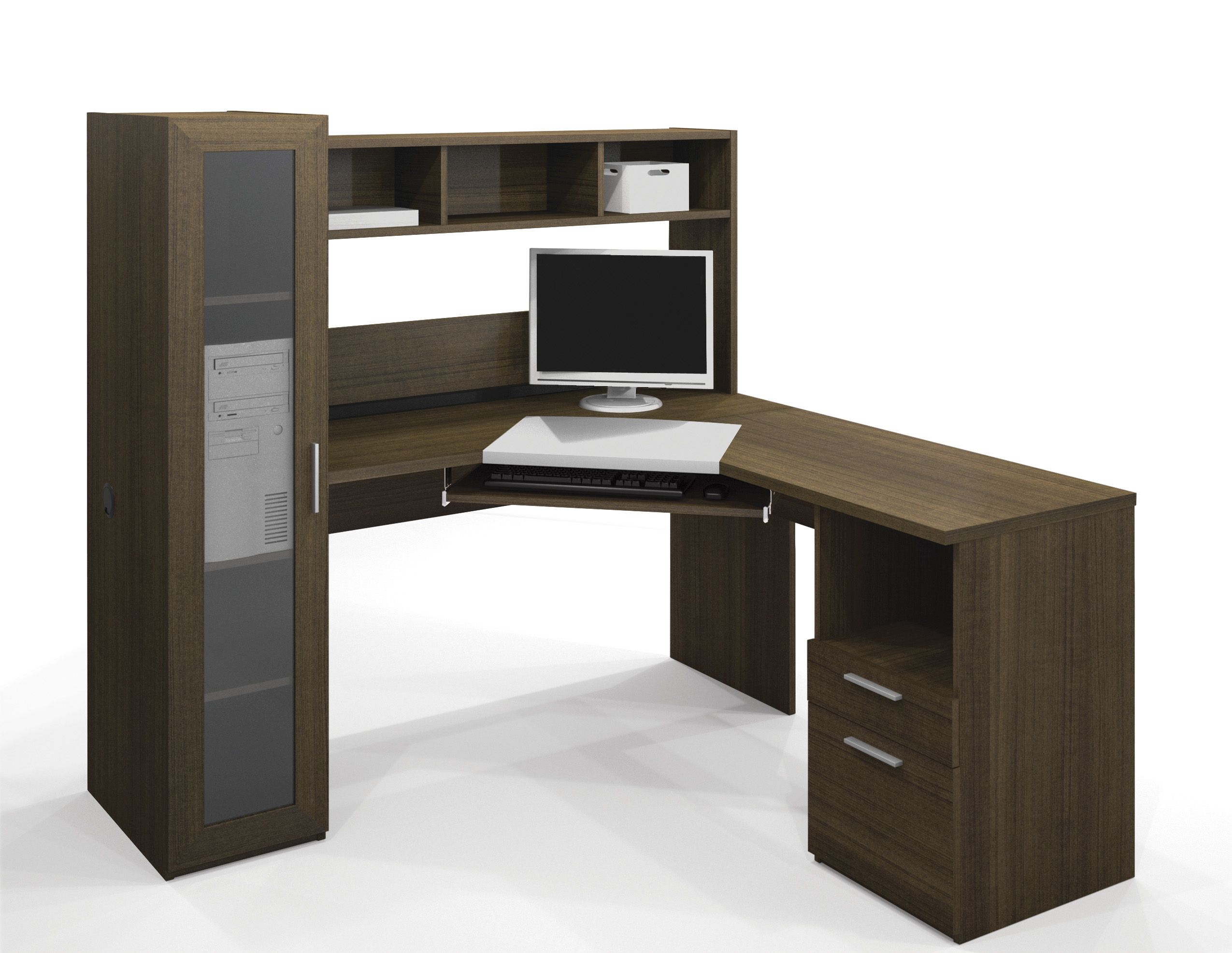 Image of: Best Pc Desk Corner
